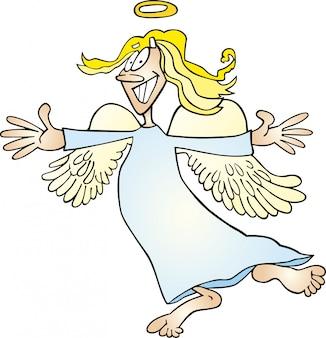 Funny angel