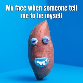 Divertente sii te stesso meme