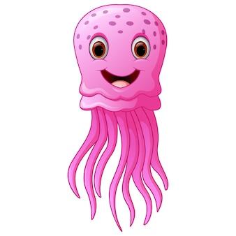 Funny and beautiful jellyfish