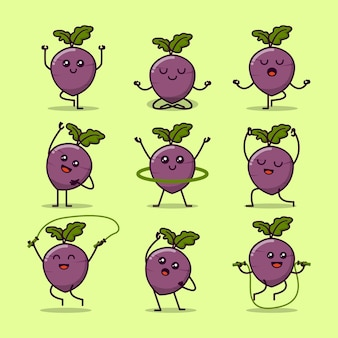Funny beets exercise collection