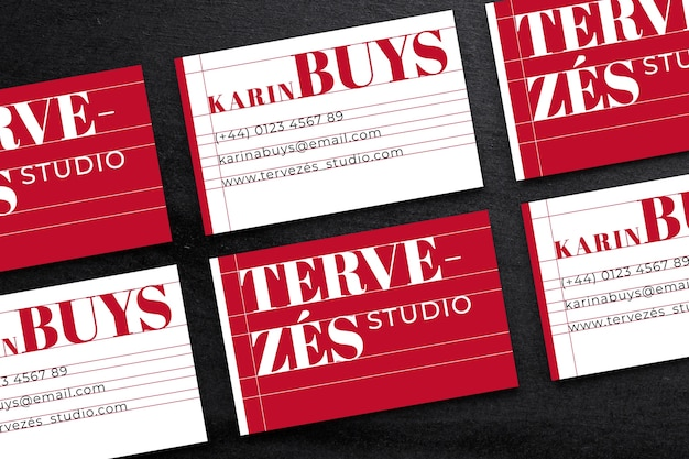 Funny business card template