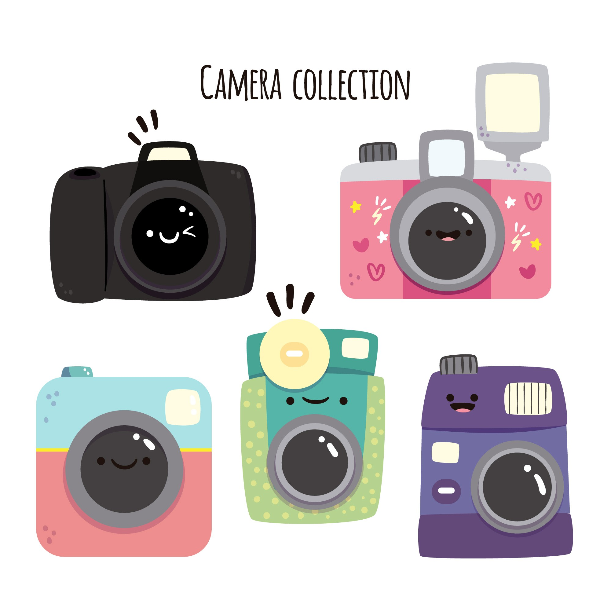 Funny camera collection