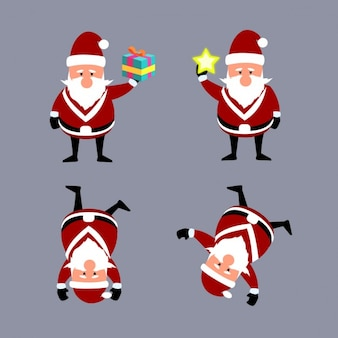 Funny cartoons of santa claus