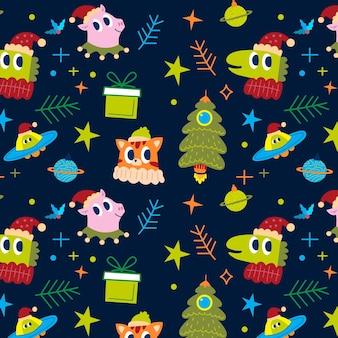 面白いクリスマスパターン
