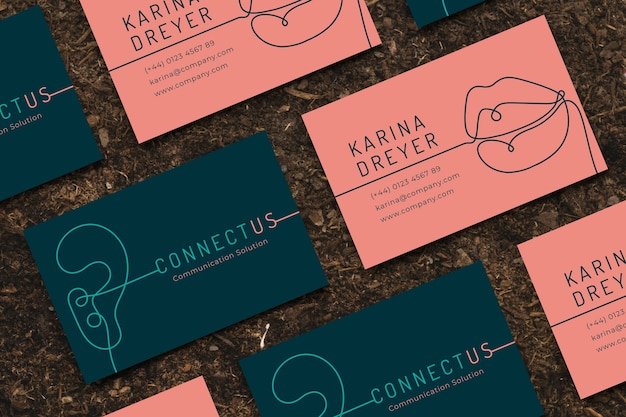 Funny designer business card template