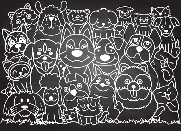 Смешные собаки и лучшие друзья милый кот. с днем дружбы.