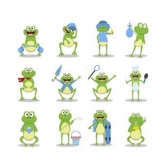 Сборник мультфильмов смешная лягушка