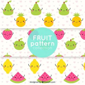 Funny fruit patterns