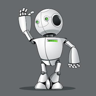 Funny kid robot