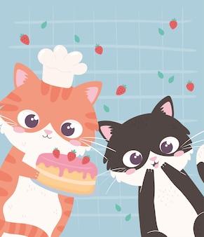 Funny little kitties