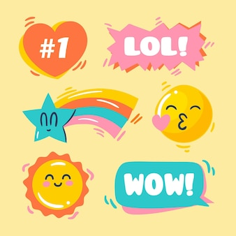 Funny lol sticker pack