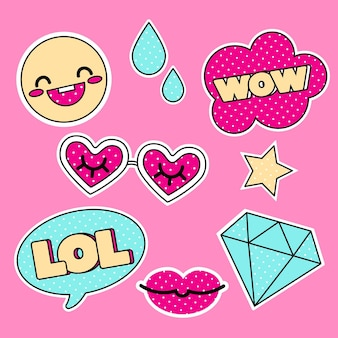 Funny lol and wow stickers