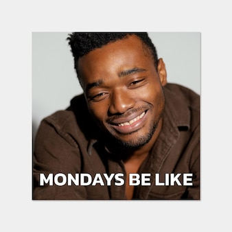 Meme generale del lunedì divertente