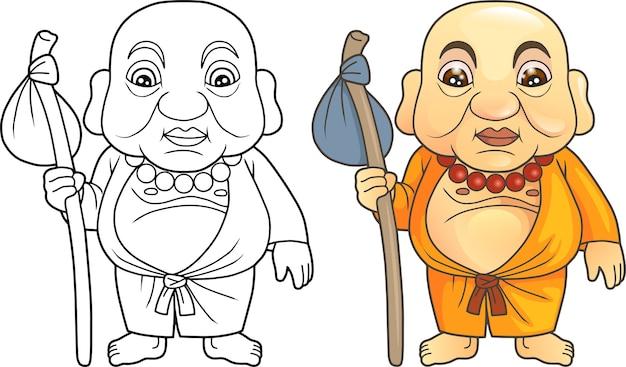 Забавный монах