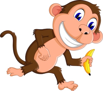 смешной мультфильм обезьяны