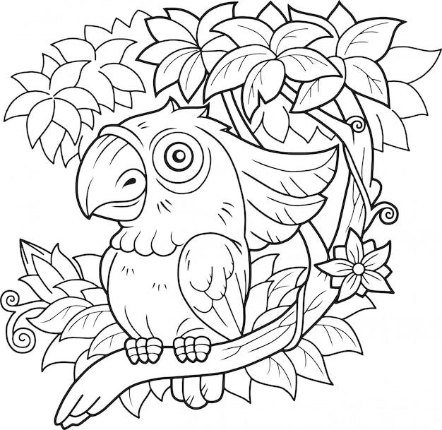 재미있는 앵무새