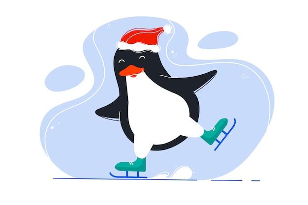 面白いペンギン
