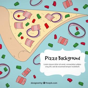 Pizza divertente