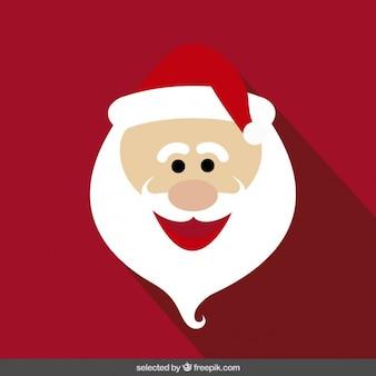 Смешные Санта-Клауса мультфильм лицо