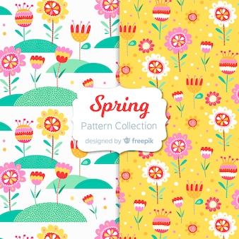 Funny spring pattern collection