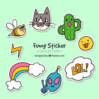 재미있는 스티커 컬렉션