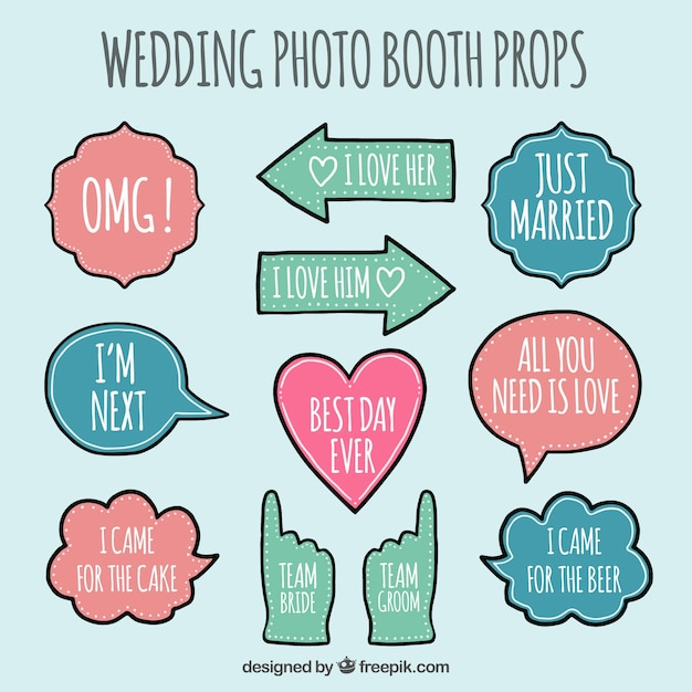 image about Free Printable Photo Booth Props Template called Picture Booth Props Vectors, Photographs and PSD information Totally free Down load
