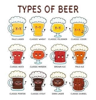 面白いタイプのビールキャラクターバンドルセット