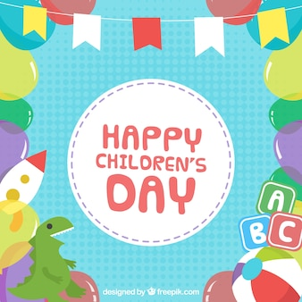 Funy design for childrens day
