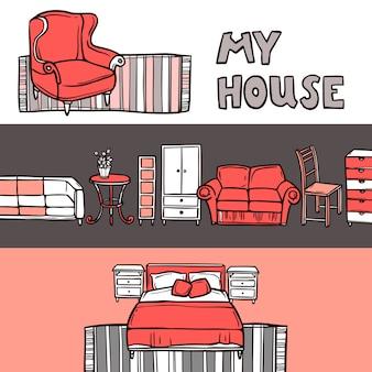 Furniture banner sketch