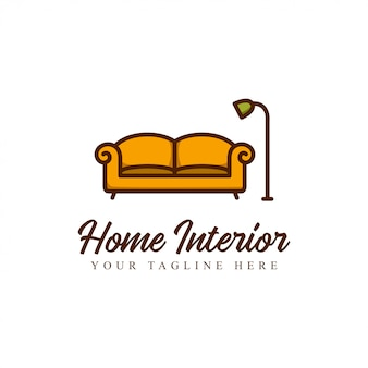 Мебель для украшения логотипа