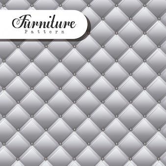 Furniture design, vector illustration.