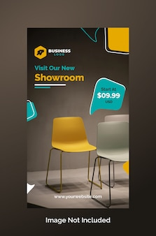 Furniture instagram stories