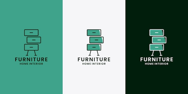家具インテリアロゴデザインプロパティホーム
