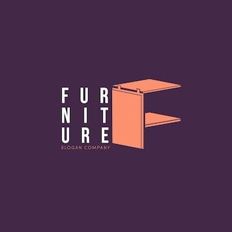 Concetto di logo di mobili
