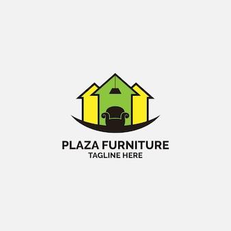 Концепция дизайна логотипа мебели