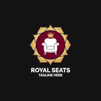 Мебель логотип с креслом