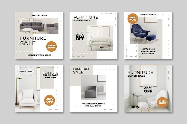 Продажа мебели ig post collection с изображением