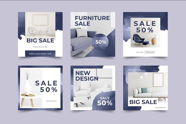 Furniture sale ig post pack