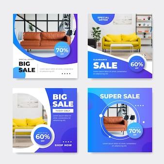 Продажа мебели ig набор постов с фото