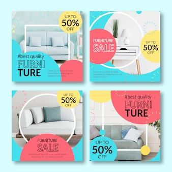 家具販売インスタグラムポストコレクション