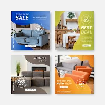 Коллекция сообщений instagram о продаже мебели