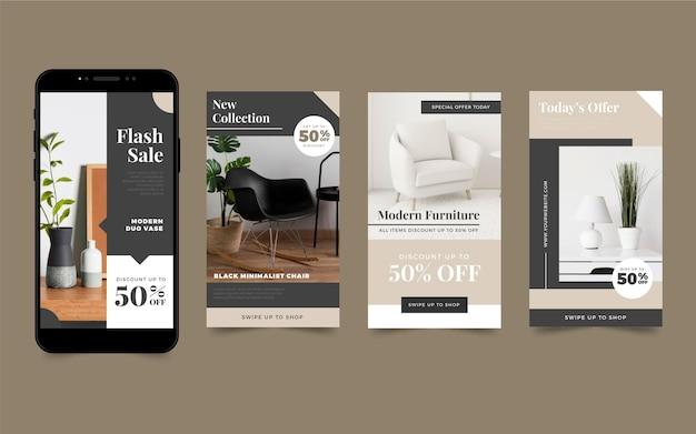 Рассказы о продаже мебели в instagram с фото