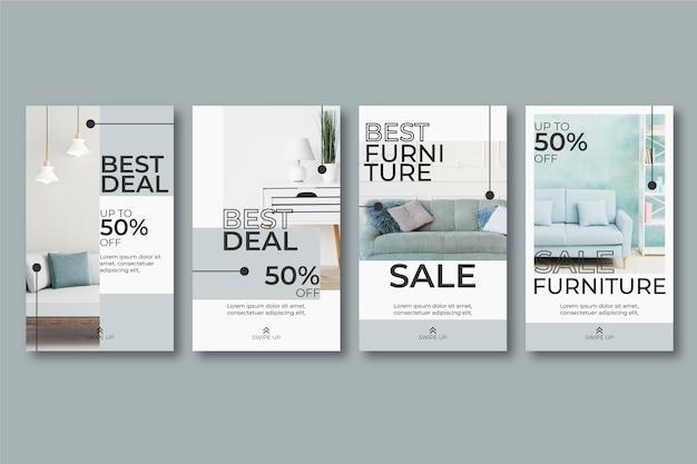 Рассказы о продаже мебели в instagram