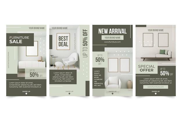 Furniture sale instagram stories