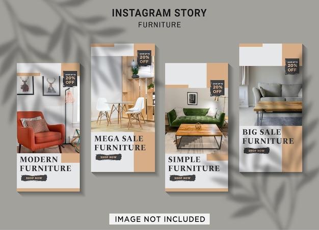 Коллекция историй продажи мебели instagram