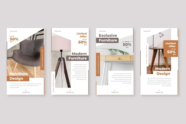 Furniture sale instagram story