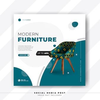 Furniture sale social media post template
