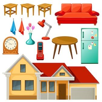 Furniture set.