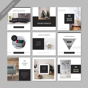 Furniture Social Media Post Template