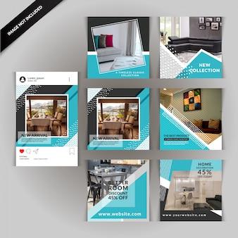 Furniture social media post
